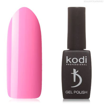 Гель лак Kodi  №20P, светлый малиново-розовый