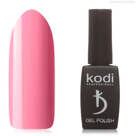 Гель лак Kodi  №30P, дымчато-розовый