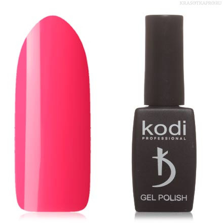 Гель лак Kodi  №30BR, неоново-розовый