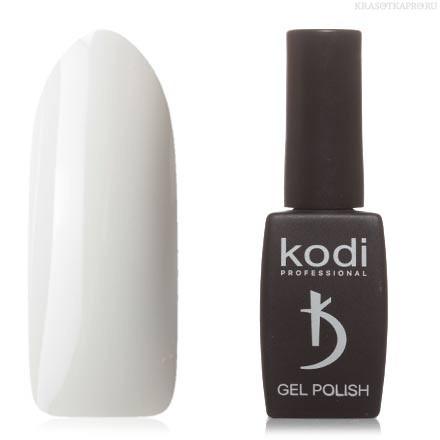 Гель лак Kodi  №30BW, дымчато-белый