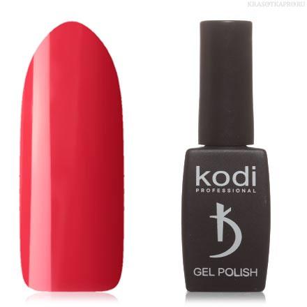 Гель лак Kodi  №40R,красно-коралловый