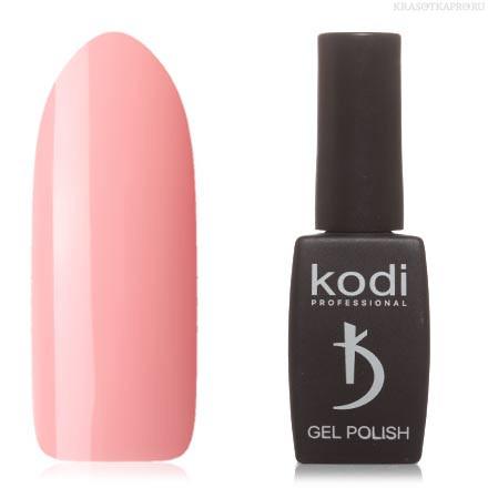 Гель лак Kodi  №40M,телесно-розовый