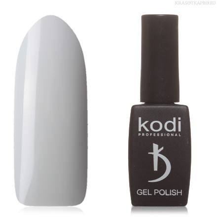 Гель лак Kodi  №40BW,светло-серый
