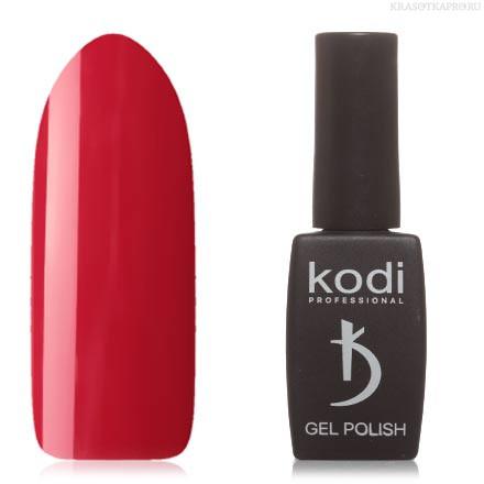 Гель лак Kodi  №50R, классический красный