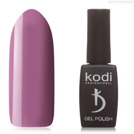 Гель лак Kodi  № 60V, пастельный бордово-фиолетовый