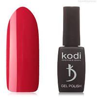 Гель лак Kodi  №80R,рубиново-красный