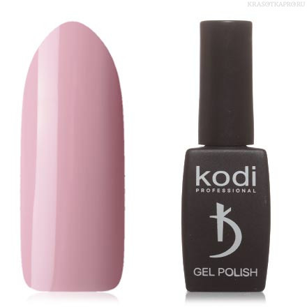 Гель лак Kodi  № 90M, пастельный розовый