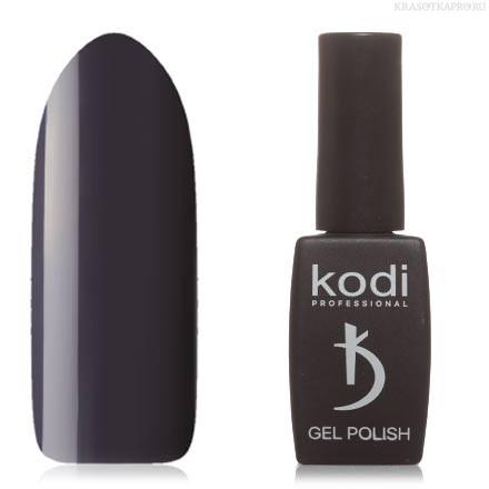 Гель лак Kodi  №90BW,темно-серый