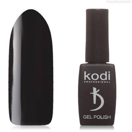 Гель лак Kodi  №100BW,черный