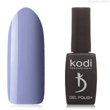 Гель лак Kodi  №160B,бледный сине-сиреневый