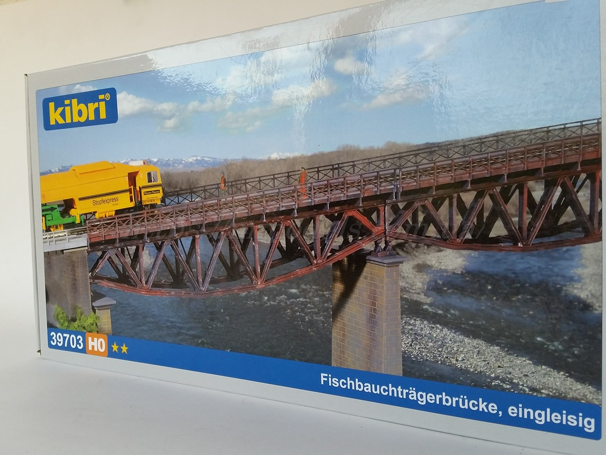 Kibri 39703 Мост Арочный - размер 34 см х7,5см / 1:87
