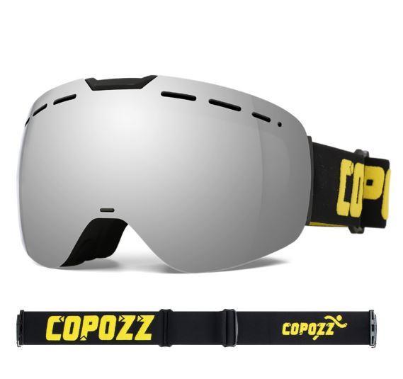 Гірськолижні / сноубордні окуляри (маска) COPOZZ GOG-2912 UV400, модель 2020 року - antifog