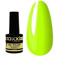 Гель лак Oxxi №183X, глянцевый ,салотово-жёлтый