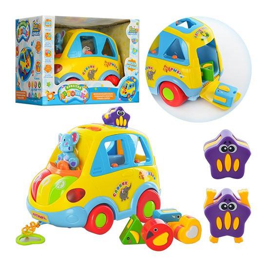 Развивающая игрушка JT 9198 Автошка
