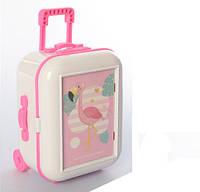 Детская шкатулка-чемодан 999C (Белая)