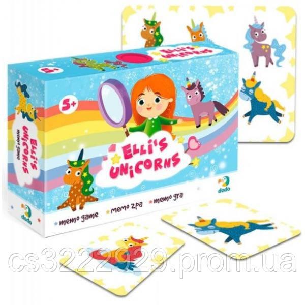 Карточная игра DoDo Единорожки Элли 300198