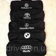 Сумка автомобільна з логотипом, чорна