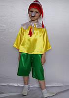 """Карнавальный костюм из атласа """"Буратино"""" размер 3-6 лет, фото 1"""