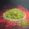 Стеклянная крошка Оливковая - 150 грамм