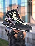Мужские кроссовки Nike LF1 Duckboot '17 (черные/звездочки) KS 1335, фото 2
