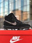 Мужские кроссовки Nike LF1 Duckboot '17 (черные/звездочки) KS 1335, фото 4