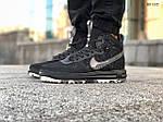 Мужские кроссовки Nike LF1 Duckboot '17 (черные/звездочки) KS 1335, фото 8