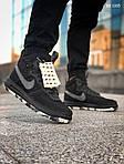 Мужские кроссовки Nike LF1 Duckboot '17 (черные/звездочки) KS 1335, фото 7