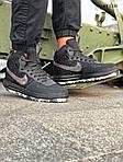 Мужские кроссовки Nike LF1 Duckboot '17 (черные/звездочки) KS 1335, фото 9