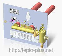 Горелка газовая УГОП-П-16-205 с электромагнитным клапаном и датчиком тяги