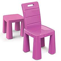 Набор столик + аэрохоккей и два стула (04580/31) Розовый, фото 2