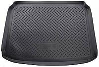 Коврик в багажник для Пежо 308, Peugeot 308 НВ (08-13) полиуретановый NPL-P-64-38