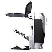 Зажигалка с инструментами в металлическом корпусе Fox Outdoor Function Lighter