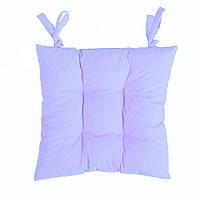Подушка на стул сиреневая  Сирень  40*40 см