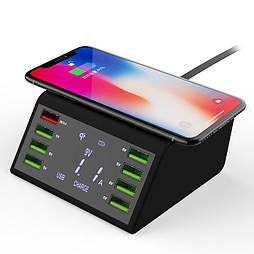 Беспроводное USB зарядное устройство STOD Qi 60 Вт