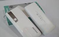Power bank Remax 60000 mAh 2USB+LED фонарь Портативная зарядка Внешний аккумулятор.