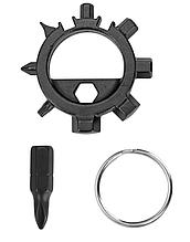 Брелок набор инструментов отвертка 12 в 1 открывалка