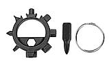 Брелок набор инструментов отвертка 12 в 1 открывалка, фото 4