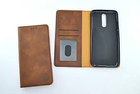 Чохол-книжка для телефону Xiaomi Redmi 8A WALL Dark brown