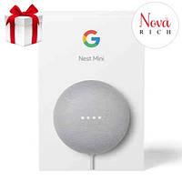 Смарт-колонка второго поколения Google Nest Mini (Chalk) Оригинал