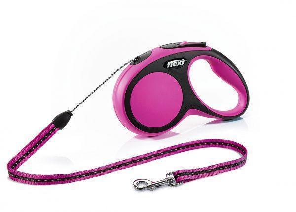 Рулетка для собак Flexi New Comfort S 5м/15кг лента