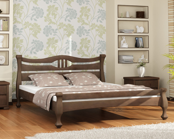 Деревянная кровать Динара размер в ассортименте
