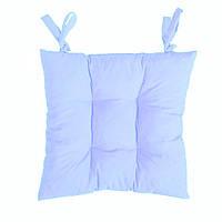 Подушка на стул светло-голубая Небо 40*40 см