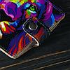 Кошелёк v.1.0. Fisher Gifts 15 Цветной лев (эко-кожа), фото 5