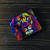 Кошелёк v.1.0. Fisher Gifts 15 Цветной лев (эко-кожа), фото 6
