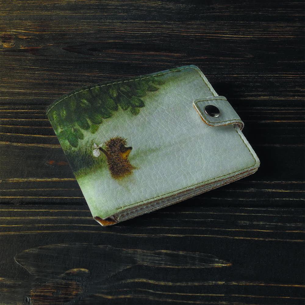 Кошелёк 1.0 Fisher Gifts 39 Ежик в тумане (эко-кожа)