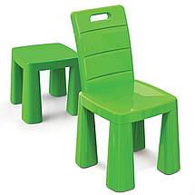 Набор столик + аэрохоккей и два стула (04580/21) Зеленый, фото 3