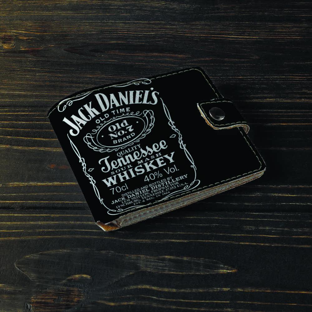 Кошелёк 1.0 Fisher Gifts  661 Jack Daniels (эко-кожа)