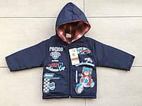 Демисезонная куртка на мальчика 1-3 года синий, фото 1