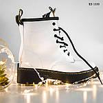 Женские зимние ботинки Dr.Martens Jadon Classic (белые), фото 7