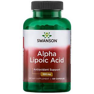 Swanson Ultra Alpha Lipoic Acid 300 mg 120 капс